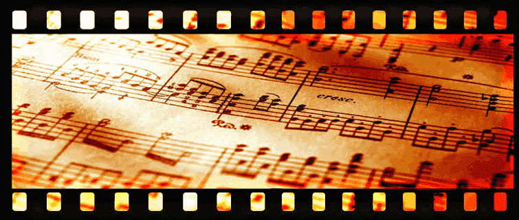 Sheet Music, Film Score In Reverse Series delights and entertains audiences with big screen projected visuals - enhancing a live musical performance.